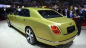 2016 Bentley Mulsanne Speed (facelift) rear three quarter at the 2016 Geneva Motor Show Live