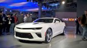 2016 Chevrolet Camaro SS (Auto Expo 2016) front three quarters left