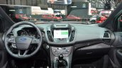 2016 Ford Kuga (facelift) dashboard at the 2016 Geneva Motor Show Live