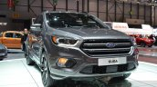 2016 Ford Kuga (facelift) headlamp grille bumper at the 2016 Geneva Motor Show Live