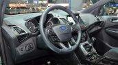 2016 Ford Kuga (facelift) steering wheel at the 2016 Geneva Motor Show Live