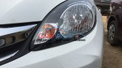 2016 Honda Amaze facelift headlight spied