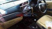 2016 Honda Amaze facelift interior spied