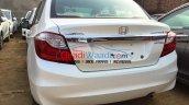 2016 Honda Amaze facelift rear spied