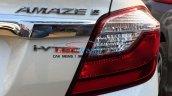 2016 Honda Amaze facelift taillight spied