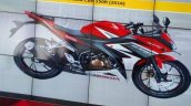 2016 Honda CBR150R presentation side launched in Indonesia