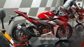 2016 Honda CBR150R red side launched in Indonesia