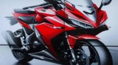 2016 Honda CBR150R sketch front quarter launched in Indonesia
