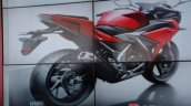 2016 Honda CBR150R sketch rear quarter launched in Indonesia