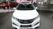 2016 Honda City Black interior with accessories front at Auto Expo 2016