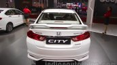 2016 Honda City Black interior with accessories rear at Auto Expo 2016