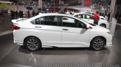 2016 Honda City Black interior with accessories side profile at Auto Expo 2016