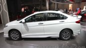 2016 Honda City Black interior with accessories side view at Auto Expo 2016