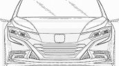 2016 Honda Civic hatchback leaked patent drawings