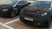 2016 Hyundai Accent and Kia Niro front spy shot