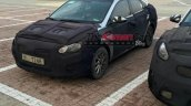 2016 Hyundai Accent front three quarters spy shot