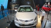 2016 Hyundai Verna front at Auto Expo 2016