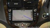 2016 Hyundai Verna infotainment system 7-inch AVN at Auto Expo 2016