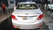 2016 Hyundai Verna rear at Auto Expo 2016
