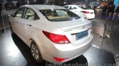 2016 Hyundai Verna rear three quarters at Auto Expo 2016