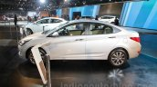 2016 Hyundai Verna side at Auto Expo 2016