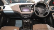 2016 Hyundai i20 dashboard at the Auto Expo 2016