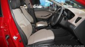 2016 Hyundai i20 front seats at the Auto Expo 2016