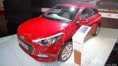 2016 Hyundai i20 front three quarters right at the Auto Expo 2016
