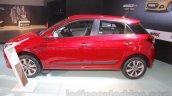 2016 Hyundai i20 side at the Auto Expo 2016