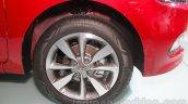 2016 Hyundai i20 wheel at the Auto Expo 2016