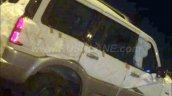 2016 Mahindra Scorpio Special Edition silver cladding spied