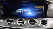 2016 Mercedes E Class (W213) COMAND display at the Geneva Motor Show Live