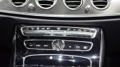 2016 Mercedes E Class (W213) center console at the Geneva Motor Show Live