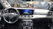 2016 Mercedes E Class (W213) dashboard at the Geneva Motor Show Live