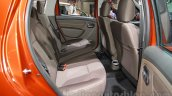 2016 Renault Duster facelift rear seat Auto Expo 2016