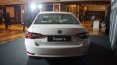 2016 Skoda Superb rear launched in India