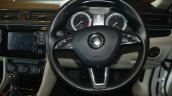 2016 Skoda Superb steering wheel launched in India