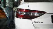 2016 Skoda Superb taillamp launched in India