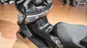 2016 Suzuki Burgman 650 Executive floor board at Auto Expo 2016
