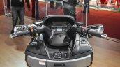 2016 Suzuki Burgman 650 Executive handlebar at Auto Expo 2016