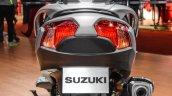 2016 Suzuki Burgman 650 Executive rear at Auto Expo 2016