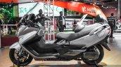 2016 Suzuki Burgman 650 Executive side at Auto Expo 2016