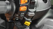 2016 Suzuki Burgman 650 Executive switchgear console at Auto Expo 2016