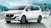 2016 Suzuki Ertiga Dreza front three quarter launched in Thailand