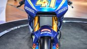 2016 Suzuki GSX-RR MotoGP bike front at Auto Expo 2016