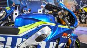 2016 Suzuki GSX-RR MotoGP bike fuel tank at Auto Expo 2016