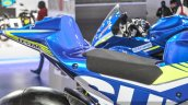 2016 Suzuki GSX-RR MotoGP bike seat at Auto Expo 2016