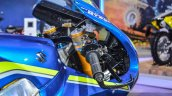 2016 Suzuki GSX-RR MotoGP bike windscreen visor at Auto Expo 2016
