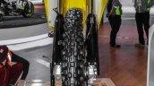 2016 Suzuki RMX450Z front tyre at Auto Expo 2016
