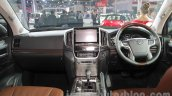 2016 Toyota Land Cruiser dashboard at Auto Expo 2016